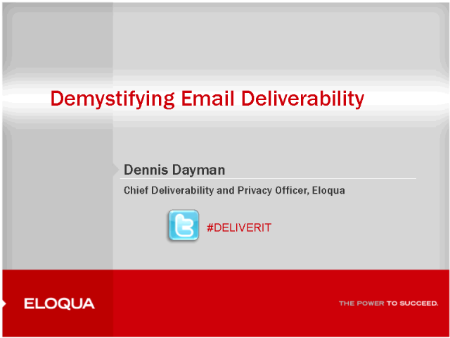 Demystifying Email Deliverability: Increasing clicks & revenue