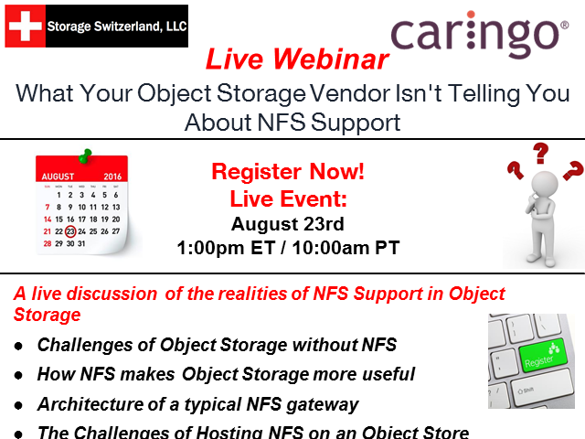 What Your Object Storage Vendor Isn't Telling You About NFS Support