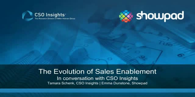 The evolution of sales enablement with CSO Insights