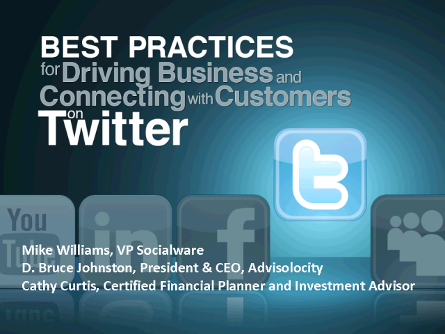 Best Practices: Driving Business on Twitter
