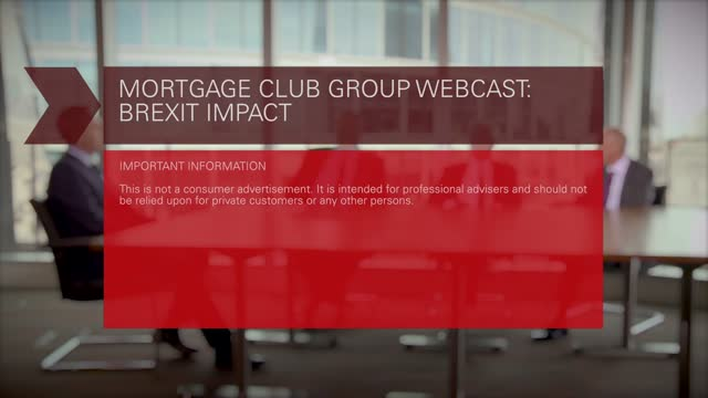 Legal and General Mortgage Club Brexit  - Full Roundtable session