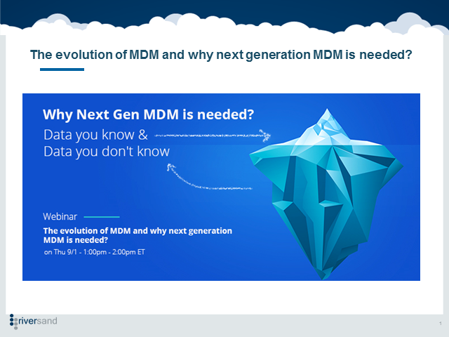 The evolution of MDM and why next generation MDM is needed?