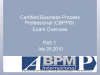 Overview of CBPP® Exam Blueprint Topics 1.0-3.0