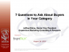 7 Questions to Ask About Buyers In Your Category or Industry