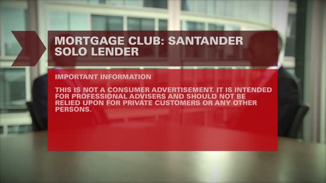 Legal & General Mortgage Club TV: Santander