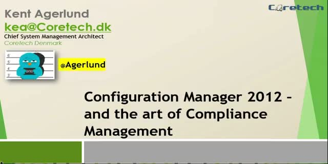 System Center Configuration Manager and the art of Compliance Management