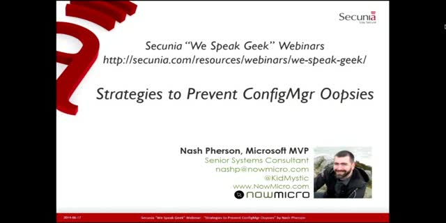 Strategies to Prevent ConfigMgr Oopsies