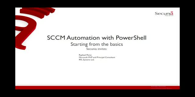SCCM Automation with PowerShell – Starting from the basics