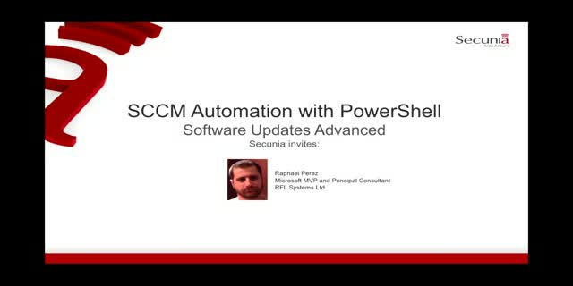 SCCM Automation with PowerShell - Software Updates Advanced