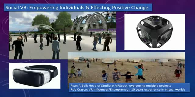 Social VR: Empowering Individuals and Effecting Positive Change