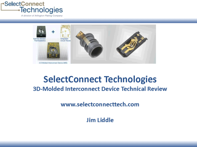 3D-Molded Interconnect Device Technical Review