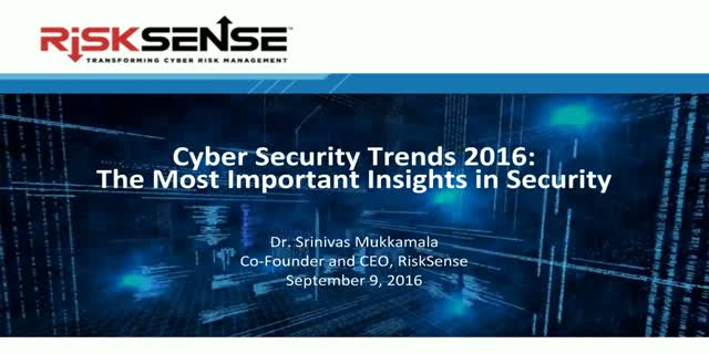 Cyber Security Trends 2016: The Most Important Insights in Security