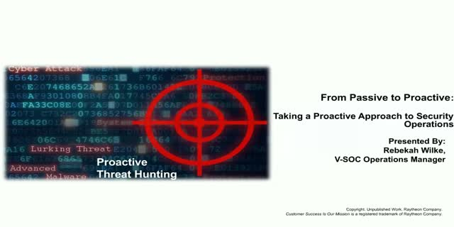 From Passive to Aggressive: Taking a Surgical Approach to Security Operations