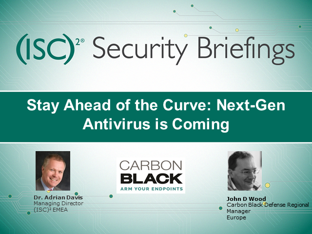 Stay Ahead of the Curve: Next-Gen Antivirus is Coming