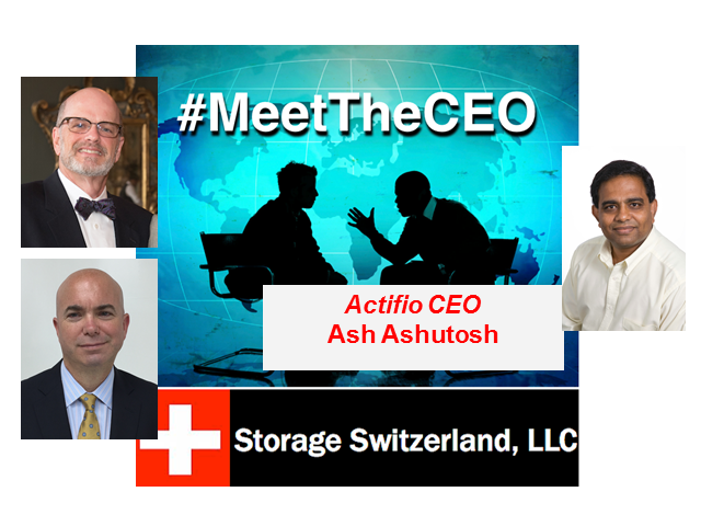 MeetTheCEO: The CEO of Copy Data, Ash Ashutosh