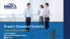 Breach Detection Systems – Product Selection Guide