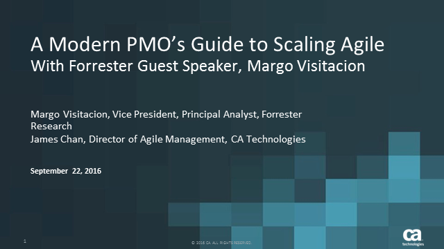 A Modern PMO's Guide to Scaling Agile