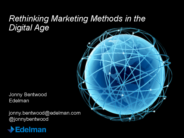 Rethinking Marketing Methods in the Digital Age