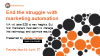 End the struggle with marketing automation