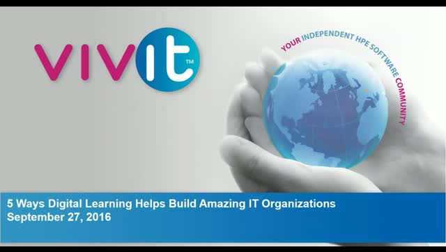 5 Ways Digital Learning Helps Build Amazing IT Organizations