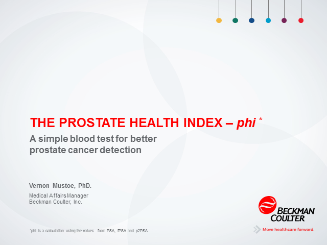 A Simple Blood Test for Better Prostate Cancer Detection
