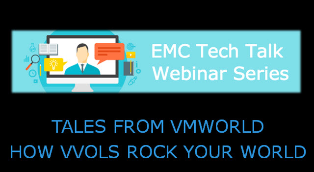 Tech Talk: Tales from VMworld - How Vvols Rock Your World