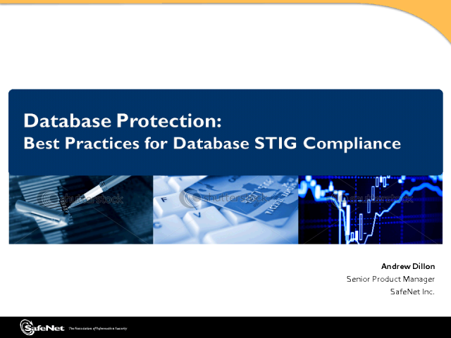 Best Practices for Database STIG Compliance