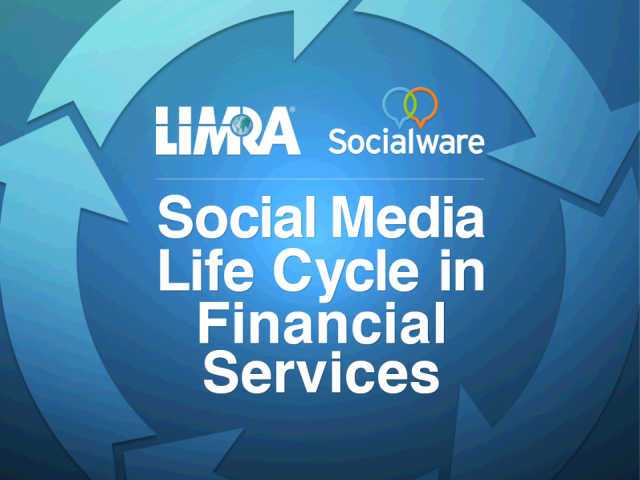 Social Media Adoption Life Cycle in Financial Services