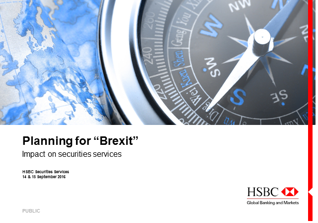 """Planning for """"Brexit"""""""
