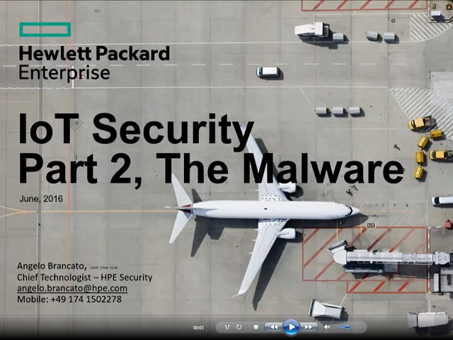Telk Talk –IoT Security Part II – The Malware