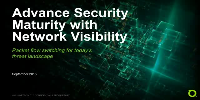Advance Security Maturity with Unified Packet Visibility