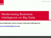 Modernizing Business Intelligence on Big Data