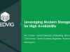 Stretched Clustering for VMware with Hedvig Software-defined Storage