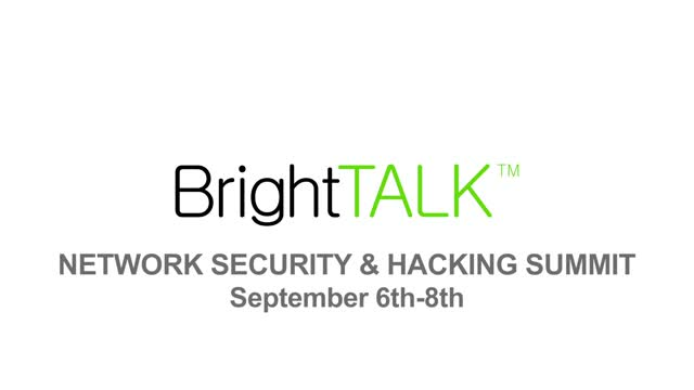 BrightTALK Network Security & Hacking Preview