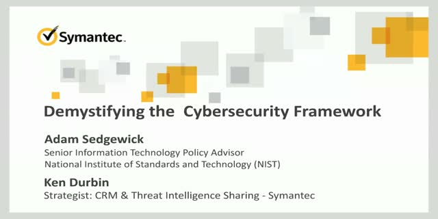 Demystifying the NIST Cybersecurity Framework (CSF): CSF 101