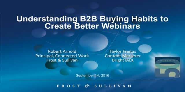 Understanding B2B Buying Habits to Create Better Webinars