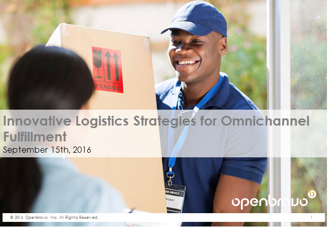 Innovative Logistics Strategies for Omnichannel Fulfillment