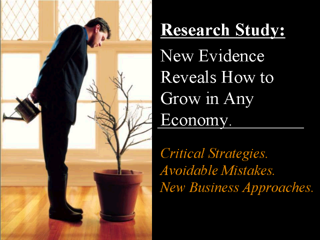 Research Study: How to Grow in an Uncertain Economy