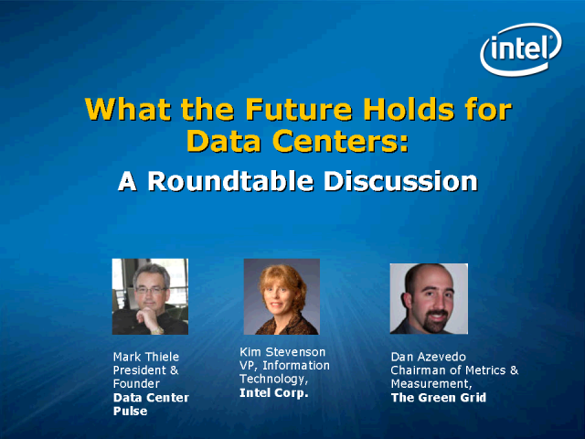 What the Future Holds for Data Centers: A Roundtable Discussion