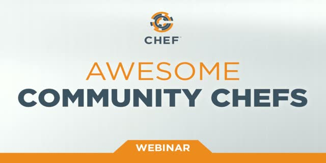 Awesome Community Chefs