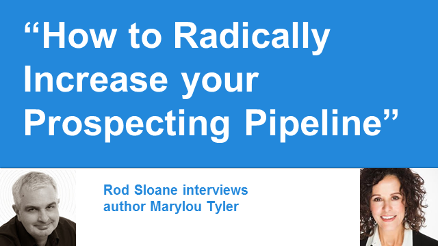 How to Radically Increase your Prospecting Pipeline