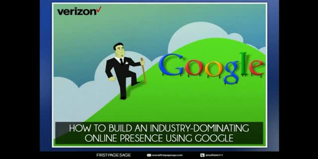 Evan Bailyn- Part One and Part Two-Building an Online Presence Using Google