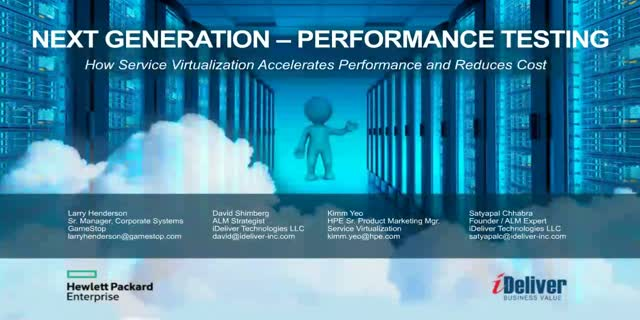 Next Generation Performance Testing
