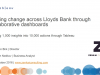 Driving change across Lloyds Bank through collaborative dashboards