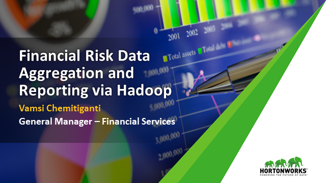 Financial Risk Data Aggregation and Reporting
