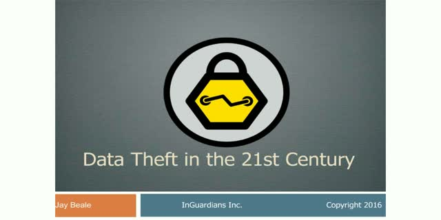 Data Theft in the 21st Century: Detect and Block PII & PEI Theft