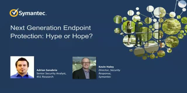 Next Generation Endpoint Protection: Hype or Hope?