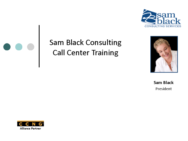 Introducing CCNG partner - Sam Black Consulting Services