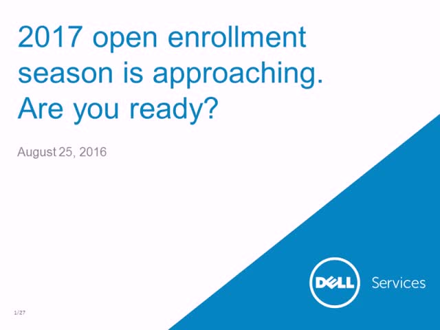 2017 Open Enrollment Season is Approaching: Are you Ready?