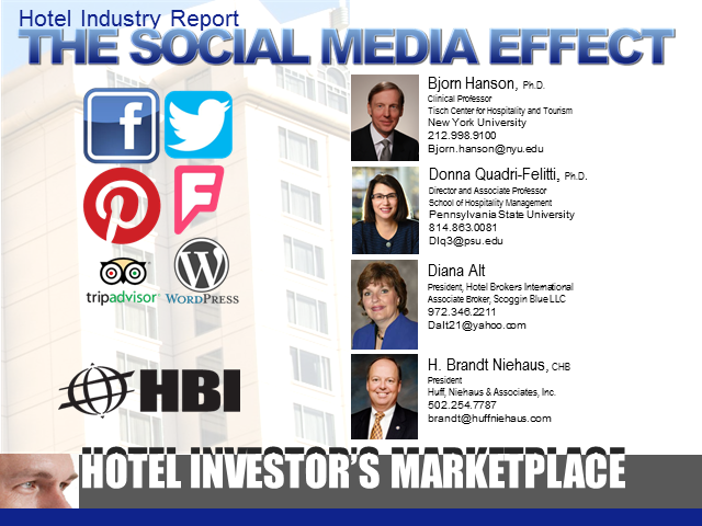 Hotel Industry Report: The Social Media Effect